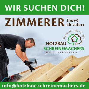 schreinemachers_stellenanzeige_zimmerer